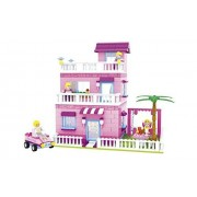 Ausini Fairyland City Family Brick House 501pc Educational Set Compatible To Lego Parts Great Gift Idea For Children