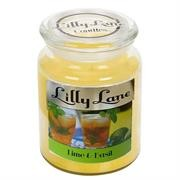Lilly Lane Lime and Basil Infusion Scented Candle
