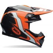 Bell Moto-9 Flex Factory Motokrosová přilba 2XL Černá Oranžová