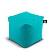 Extreme Lounging B-Box poef-aqua blauw