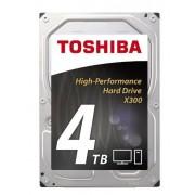 HDD Toshiba X300, 4TB, SATA-III, 7200 RPM, 128MB