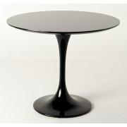 Replica Tulip Table - Black Fiberglass - 120cm