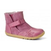 Bobux Rózsaszín virágmintás csizma - 24 (2-3 éves)