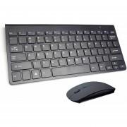 Teclado inalámbrico portátil para Mac Notebook Laptop TV box 2,4G Mini teclado Mouse Set suminis LA