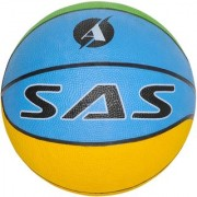 SAS Kids Basketball for Academic Purposes in Multicolour - Pack of 1 Standard size For Kids