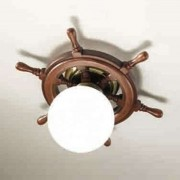 Timone ceiling light, spherical glass white