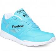 Pantofi sport barbati Reebok Classic Ventilator Dg Neon Blue/white/black M46608