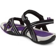 Fuel Women Purple Sports Sandals