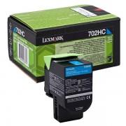 Lexmark 70C2HC0 - 702HC toner cian
