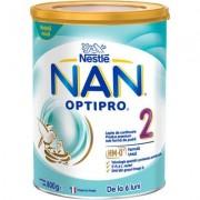 Lapte praf de continuare Nan Optipro 2 HM-O de la 6 luni x 800g Nestle