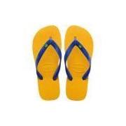 Sandália Havaianas Brasil Amarelo Banana 35/36 - 35/36