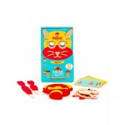 Kipod Toys Деревянный набор Сделай маску на липучках