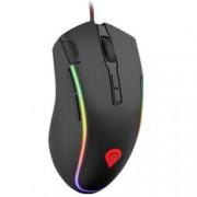 Мишка Natec Genesis Krypton 700, (7200dpi), Гейминг, USB, черна, подсветка RBG