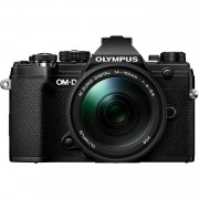 Olympus OM-D E-M5 Mark III Body met 14-150mm Mark II lens Digital Cameras - Zwart (Internatinale Ver.)