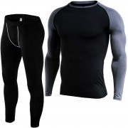 Titan Fit Nation Set Termic Base Layer Barbati marime S