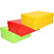 Shoppartners Inpakpapier voordeelset 3 rollen van 70 x 200 cm