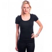 Ten Cate Women T-Shirt (30199) Short Sleeves Black - Zwart - Size: Medium