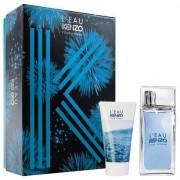 Kit Perfume Masculino Kenzo L'Eau Kenzo Homme EDT 50ml + Gel de Banho 50ml - Masculino