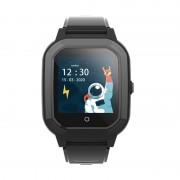 Ceas Inteligent pentru copii WONLEX KT20 4G Negru, cu GPS, apelare video, rezistent la apa, localizare WiFI si monitorizare spion