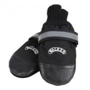 Komfortní ochranné nylonové botičky L, 2 ks (border kólie)