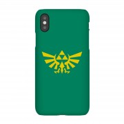 Nintendo Funda Móvil Nintendo The Legend of Zelda Hyrule - iPhone X - Carcasa rígida - Mate