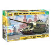 ZVEZDA KOALITSIYA-SV RUSSIAN S.P.G. tank makett 3677