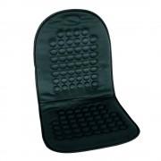Husa scaun auto Carpoint cu masaj magnetic negru pentru scaunele din fata , 1 buc.