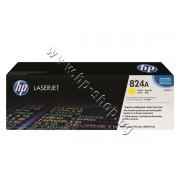 Тонер HP 824A за CP6015/CM6030, Yellow (21K), p/n CB382A - Оригинален HP консуматив - тонер касета