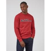 Ben Sherman Signature Ben Sherman Red Logo Sweatshirt Large Red