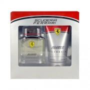 Ferrari Scuderia 75Ml Edt 75Ml + 150Ml Shower Gel Per Uomo (Eau De Toilette)