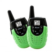 YIEASY Kid Walkie Talkie - Toys for Boys Girls Birthday Gifts - Walkie Talkie Rechargeable For Children (Green) by YIEASY Childrens-two-way-radios