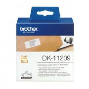 Brother adreslabel klein 62x29mm wit