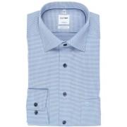 OLYMP Tendenz Modern Fit Hemd bleu, Faux-uni