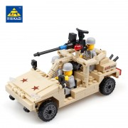 KAZI Military Building Blocks World War Soldiers Weapon Car Toys Boy Bricks Compatible with lego