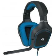 Logitech G430 7.1 Surround Sound Геймърски Слушалки