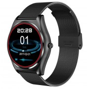 Ceas Smartwatch iUni N3 Plus, BT, 1.3 Inch, IOS si Android, Black