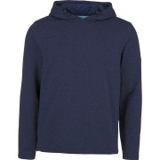 CHIEMSEE Herren Fleece Kapuzenpullover BARCLAY, dress blue mela XXL