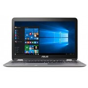 Asus VivoBook Flip Convertible 15.6 Pulgadas visualización táctil Laptop Intel Core i3-6100U 2.3GHz, 4GB DDR4, 128GB SSD, Bluetooth, Windows 10 Home