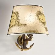 Elegant Nautica wall light, 31 cm