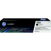 HP 126A Black LaserJet Toner Cartridge (Black)
