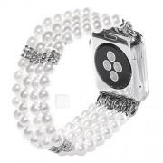 Jade agaat parel kralen riem handgemaakte sieraden voor appel horloge iwatch 38mm 42mm