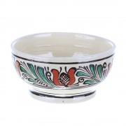 Bol ceramica traditionala colorata Corund 15 cm