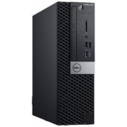 Calculator Sistem PC Dell OptiPlex 5060 SFF (Procesor Intel® Core™ i5-8500 (9M Cache, up to 4.10 GHz), Coffee Lake, 8GB, 256GB SSD, Intel® UHD Graphics 630, Linux, Negru)