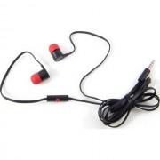 HTC $$ Auricolare Originale A Filo Stereo In-Ear Max-300 Black-Red Bulk Per Modelli A Marchio