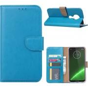Motorola Moto G7 Play - Bookcase Turquoise - portemonee hoesje