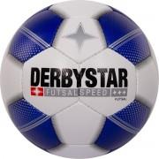 Derbystar Futsal Speed Voetbal - Wit - Maat 4