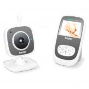Monitor video pentru bebelusi Beurer, LCD, functie zoom