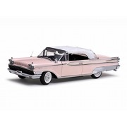 1959 Mercury Park Lane Closed Convertible, Sand - Sun Star 5165 - 1/18 Scale Diecast Model Toy Car