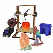 creality 3D CR-10S Kit de impresora bricolaje 3D con varilla roscada doble en el eje z? motor - naranja (enchufe de EE. UU.)