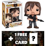 Daryl Dixon (Rocket Launcher): Funko POP! x Walking Dead Vinyl Figure + 1 FREE Official Walking Dead Trading Card Bundle (110655)